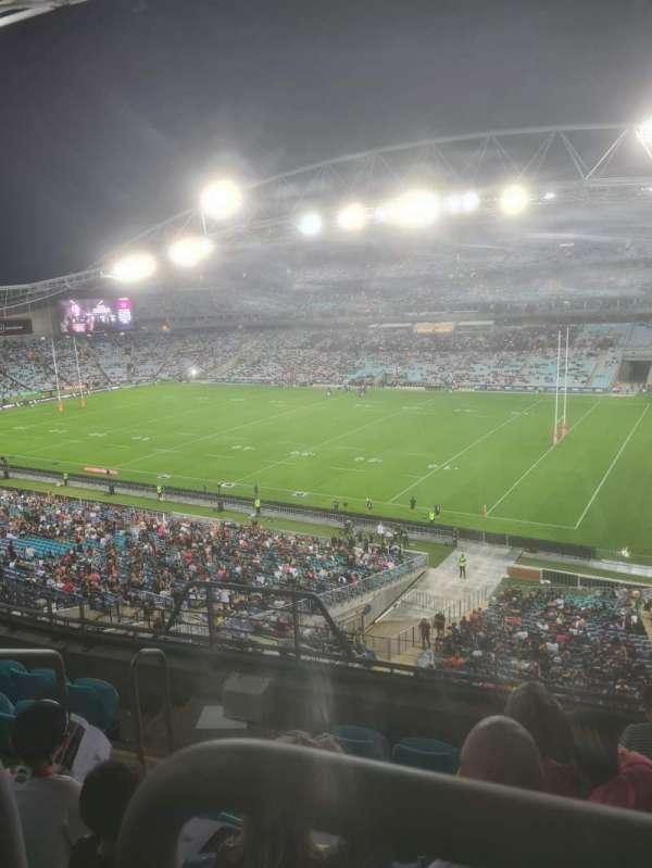 ANZ Stadium, secção: 410, fila: 6, lugar: 63