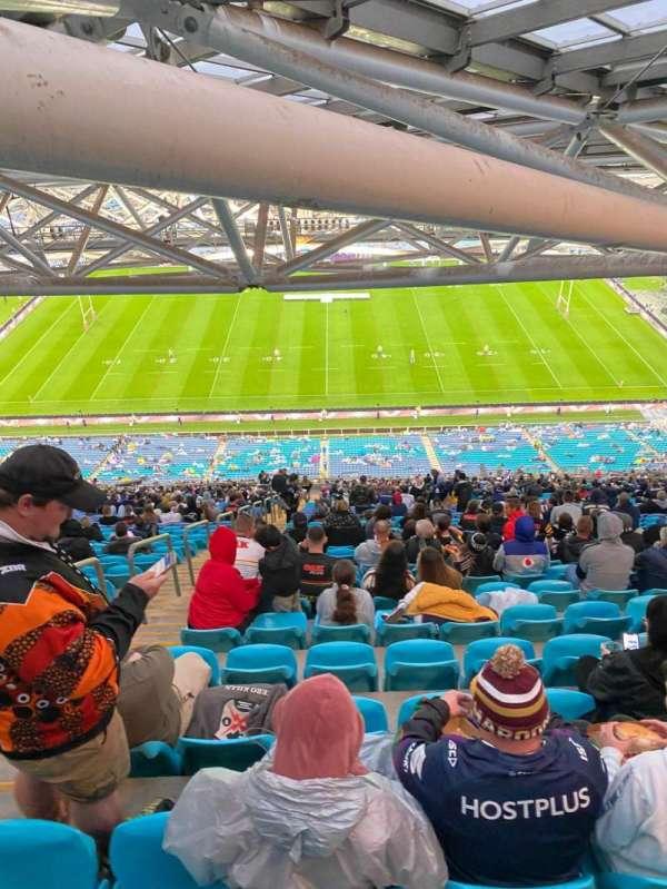 ANZ Stadium, secção: 608-2, fila: 47, lugar: 35