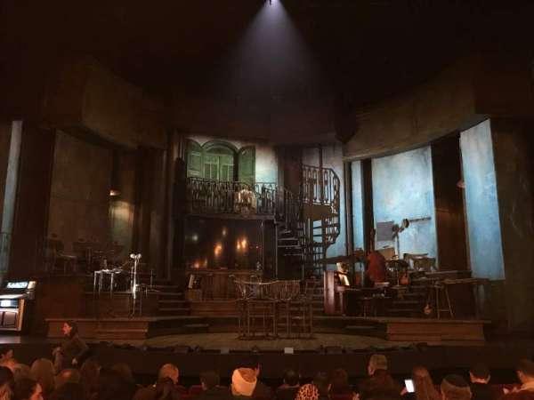 Walter Kerr Theatre, secção: Orchestra C, fila: M, lugar: 109