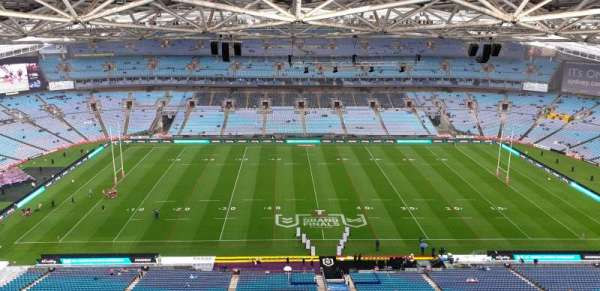 ANZ Stadium, secção: 626-1, fila: 25, lugar: 16