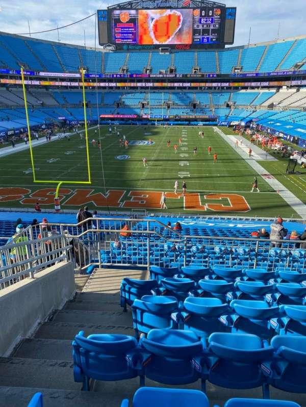 Bank of America Stadium, secção: 228, fila: 6, lugar: 18