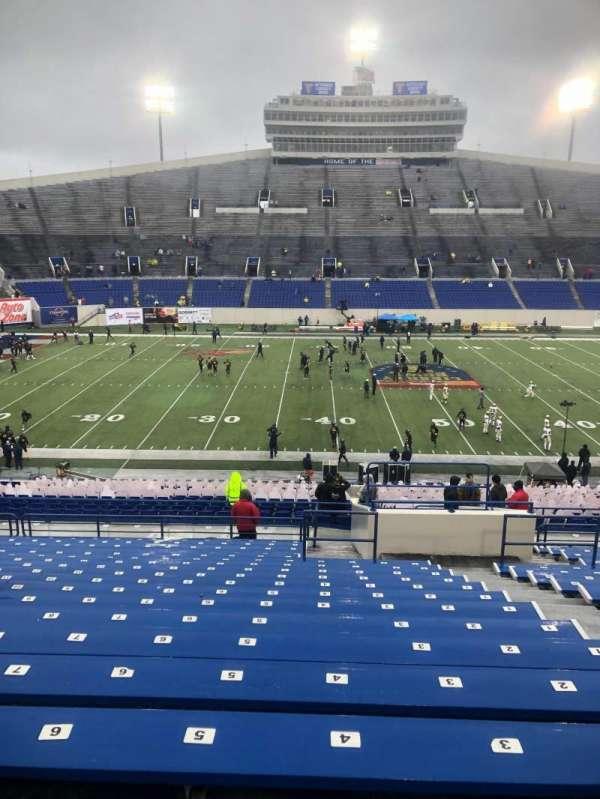 Liberty Bowl Memorial Stadium, secção: 121, fila: 47, lugar: 4