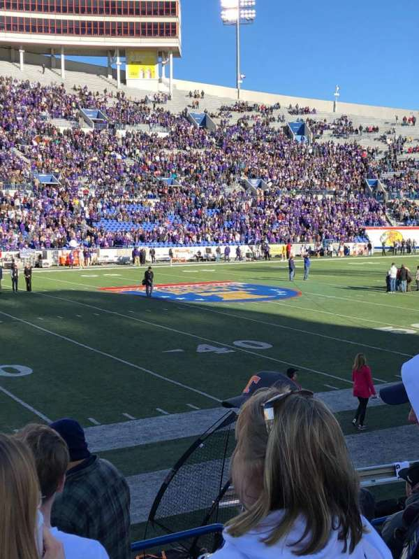 Liberty Bowl Memorial Stadium, secção: 106, fila: 13, lugar: 4