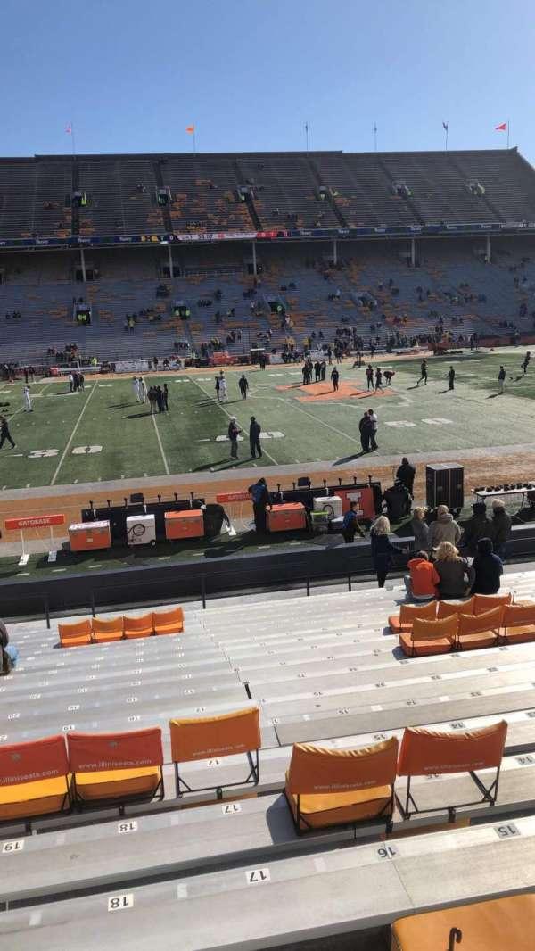 Memorial Stadium (Champaign), secção: 129, fila: 17, lugar: 17