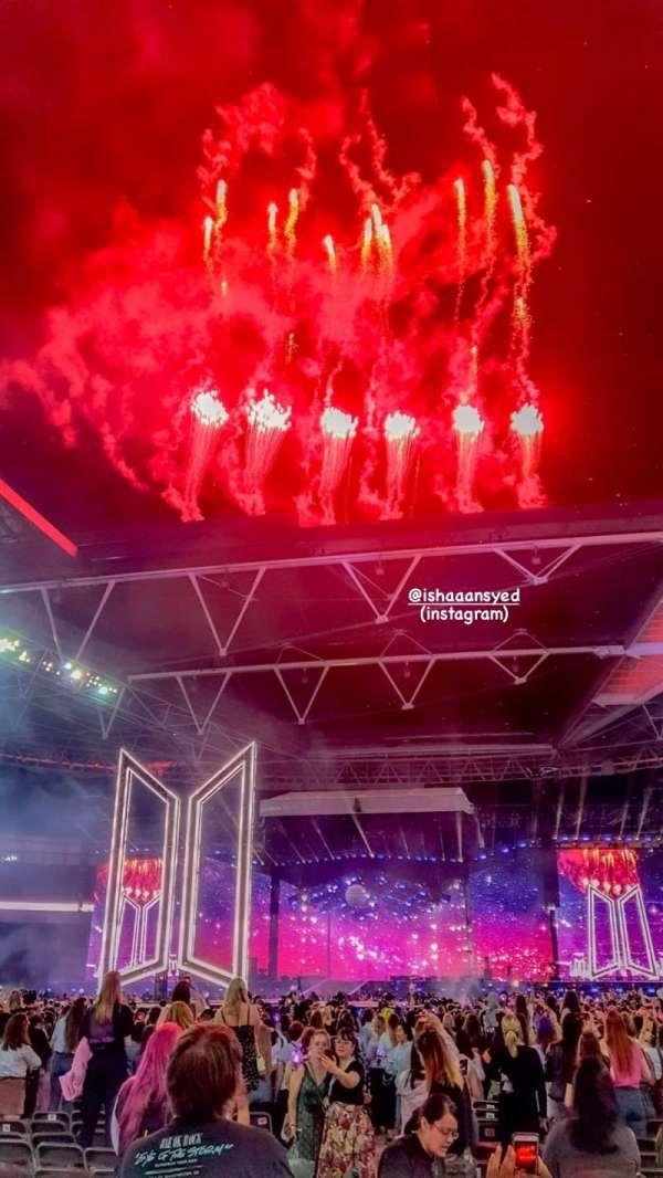 Wembley Stadium, secção: D2, fila: A, lugar: 21