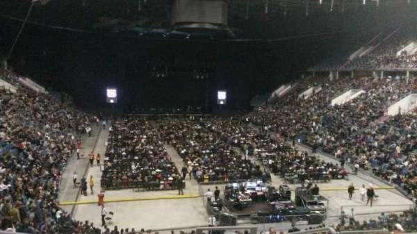 Tauron Arena Kraków, secção: A06, fila: 25, lugar: 20