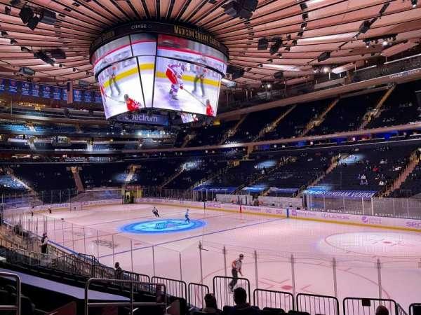 Madison Square Garden, secção: 120, fila: 12, lugar: 6