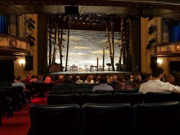 Comedy Theatre, secção: Stalls, fila: L, lugar: 15