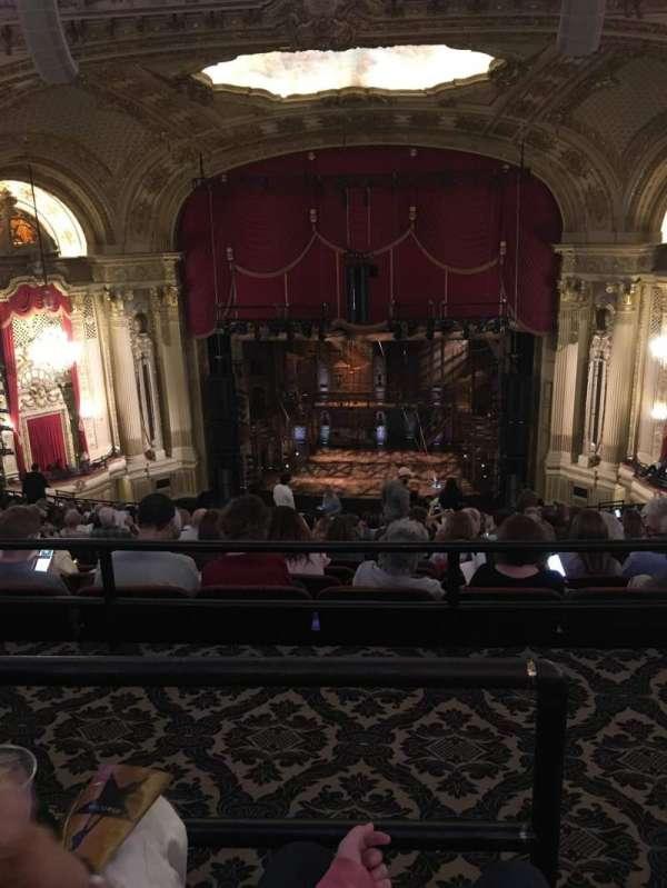 Citizens Bank Opera House, secção: Balcony C, fila: Q, lugar: 101