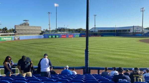 TD Ballpark, secção: 115, fila: 12, lugar: 10