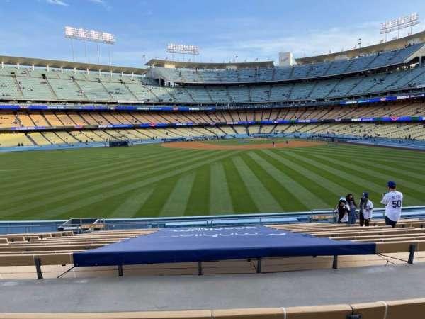 Dodger Stadium, secção: 311PL, fila: P, lugar: 7