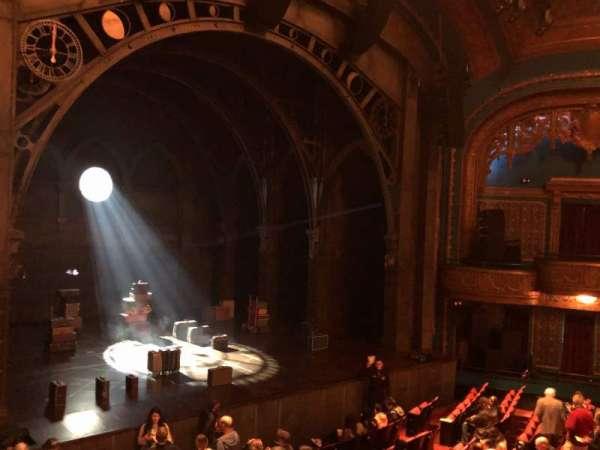 Curran Theater, secção: Loge, fila: A, lugar: 15