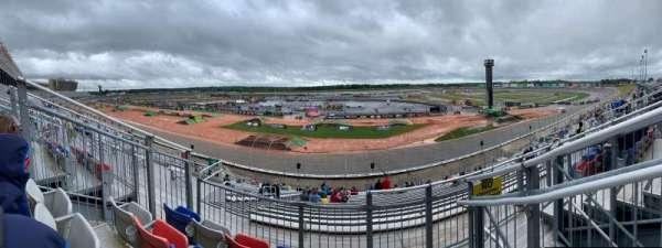 Atlanta Motor Speedway, secção: 261, fila: 32, lugar: 14