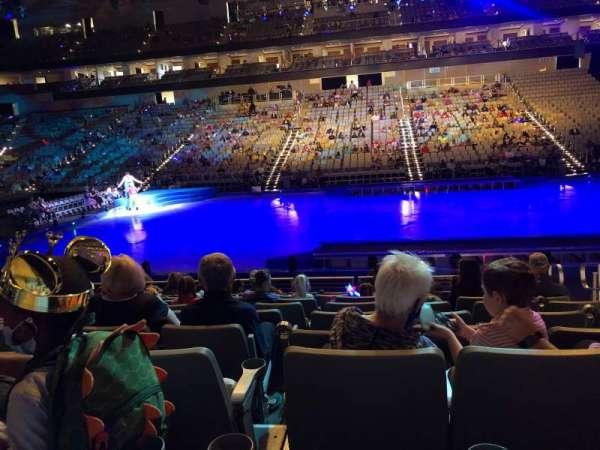 Dickies Arena, secção: 107, fila: 9, lugar: 4