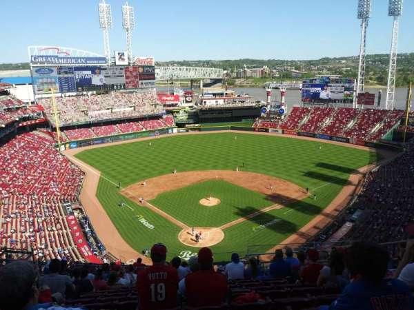 Great American Ball Park, secção: 524, fila: O