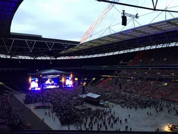 Wembley Stadium, secção: 519, fila: 2, lugar: 150