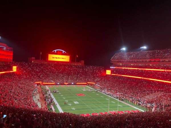 Memorial Stadium (Lincoln), secção: 18, fila: 98