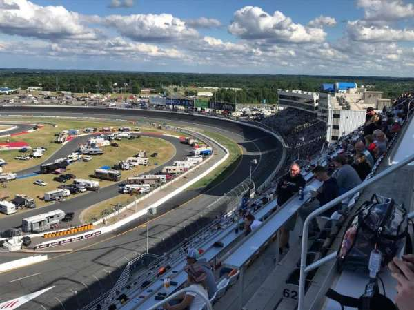 Charlotte Motor Speedway, secção: FORD F, fila: 64, lugar: 6