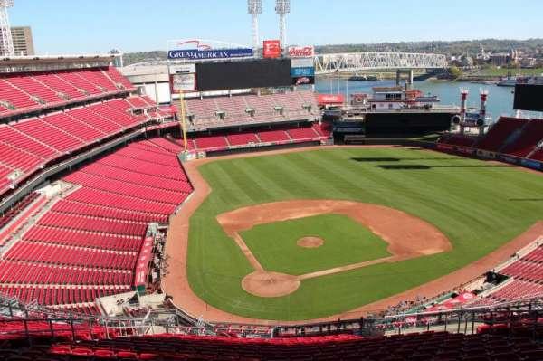 Great American Ball Park, secção: 526, fila: s, lugar: 13