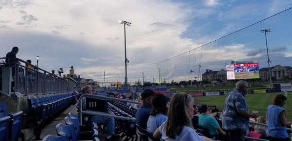Atrium Health Ballpark, secção: 111, fila: Q, lugar: 13