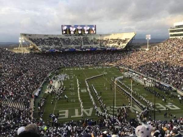 Beaver Stadium, secção: SHC, fila: NN, lugar: 10