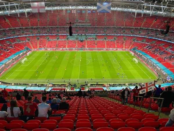 Wembley Stadium, secção: 552, fila: 39, lugar: 380