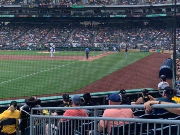 PNC Park, secção: 31, fila: L, lugar: 4