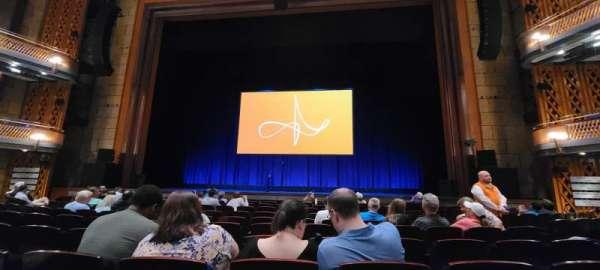 Walt Disney Theatre - Dr. Phillips Center, secção: Lower Orchestra C, fila: G, lugar: 116