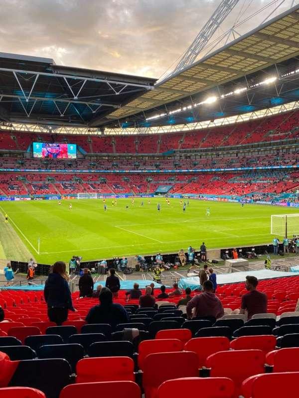 Wembley Stadium, secção: 115, fila: 29, lugar: 90