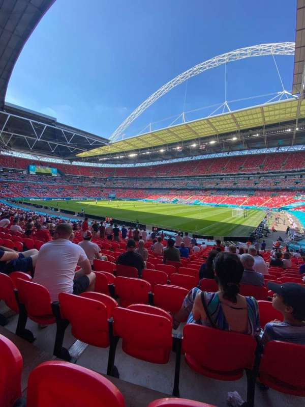 Wembley Stadium, secção: 118, fila: 29, lugar: 180
