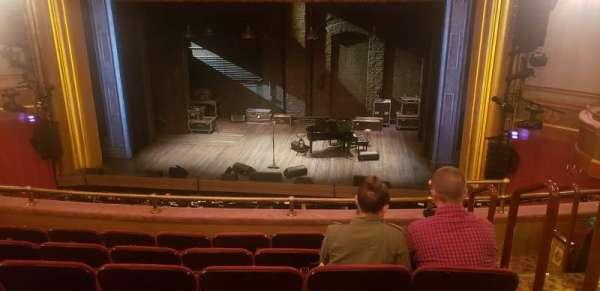 St. James Theatre, secção: Mezzanine C, fila: F, lugar: 102