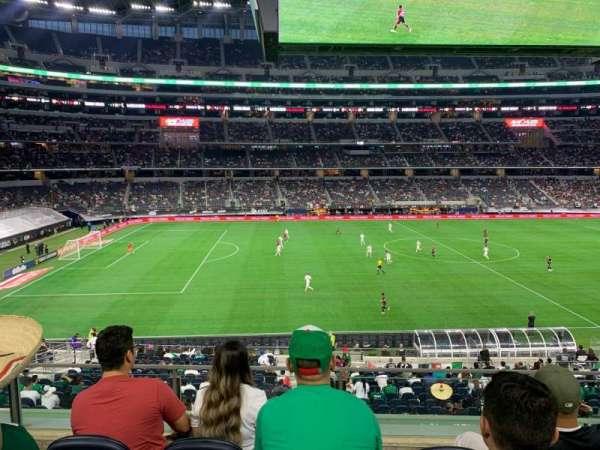 AT&T Stadium, secção: C212, fila: 4, lugar: 8