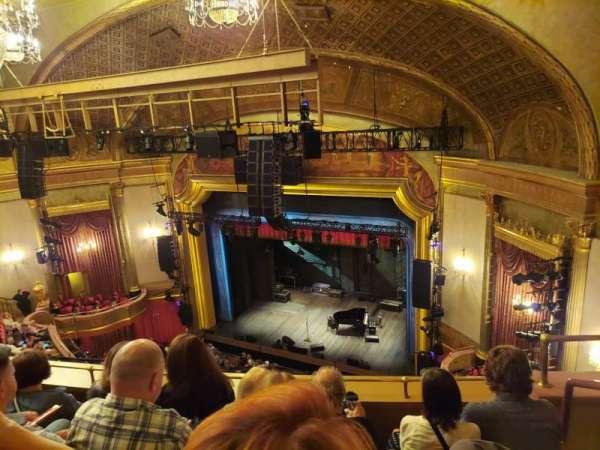 St. James Theatre, secção: Balcony R, fila: D, lugar: 24