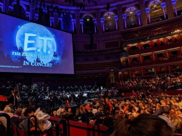 Royal Albert Hall, secção: Stalls