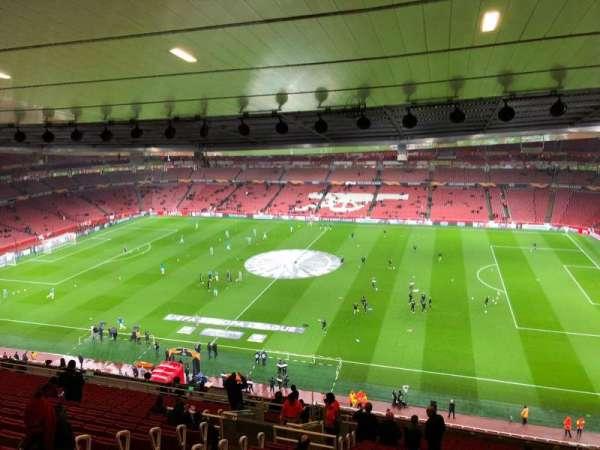 Emirates Stadium, secção: 133, fila: 23