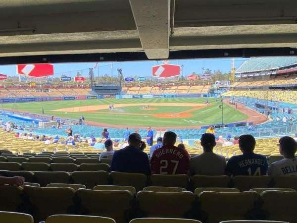 Dodger Stadium, secção: 5FD, fila: DR, lugar: 3