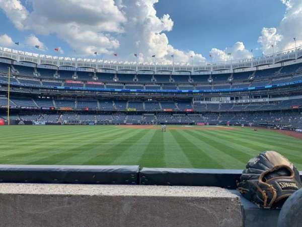 Yankee Stadium, secção: 135, fila: 1, lugar: 1