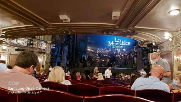 Sondheim Theatre (West End), secção: Stalls, fila: P, lugar: 3