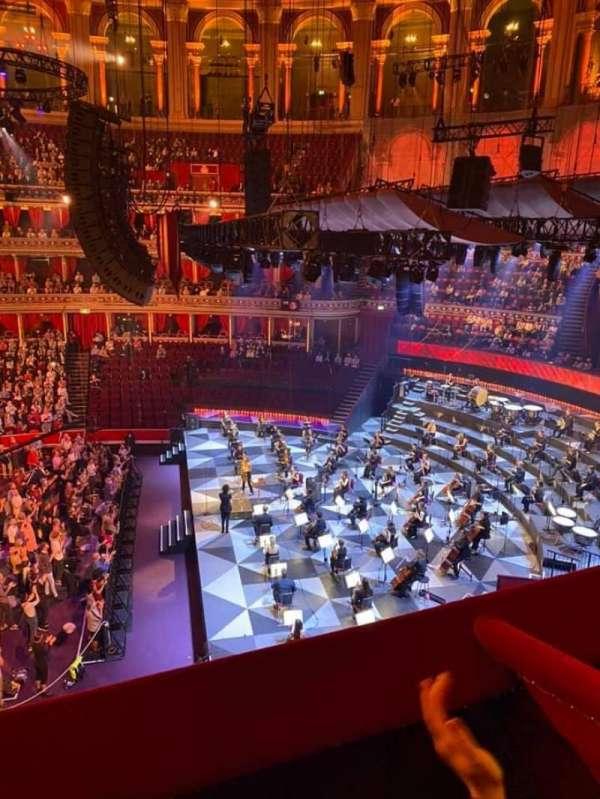 Royal Albert Hall, secção: Second Tier 77, fila: Box, lugar: 77