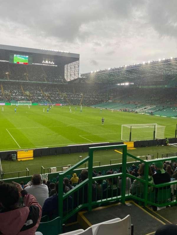 Celtic Park, secção: 141, fila: X, lugar: 24
