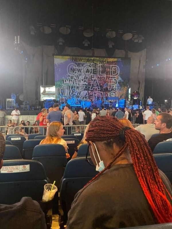 PNC Music Pavilion, secção: 2, fila: P, lugar: 26
