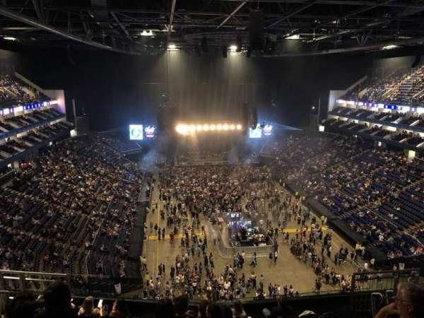The O2 Arena, secção: 411, fila: J, lugar: 495