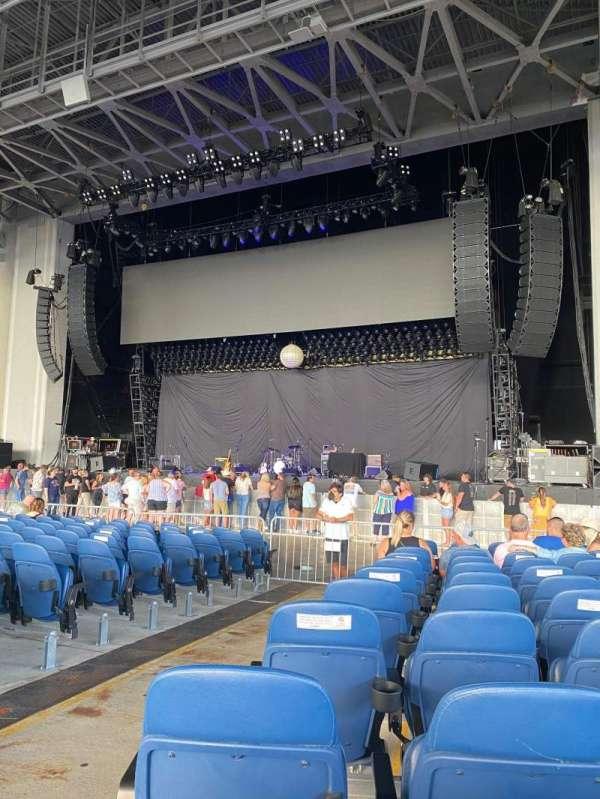 PNC Music Pavilion, secção: 1, fila: U, lugar: 40