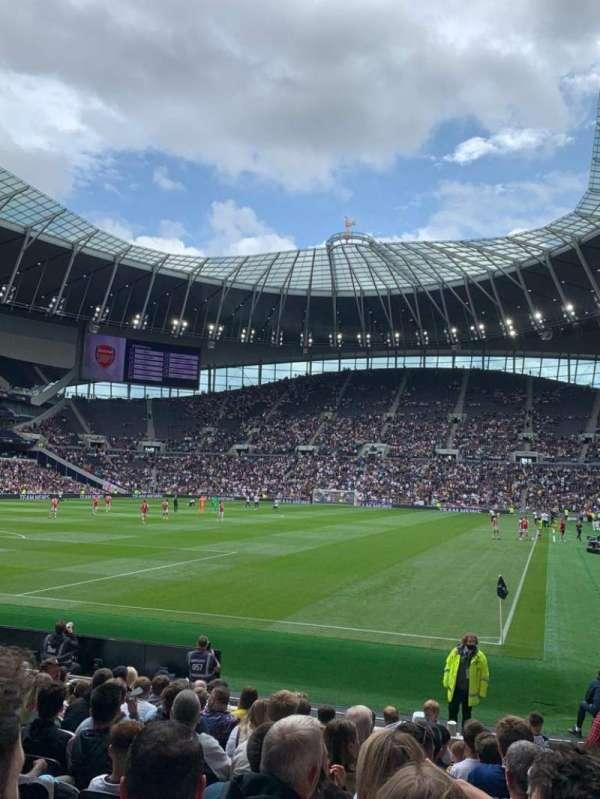Tottenham Hotspur Stadium, secção: 110, fila: 14, lugar: 299
