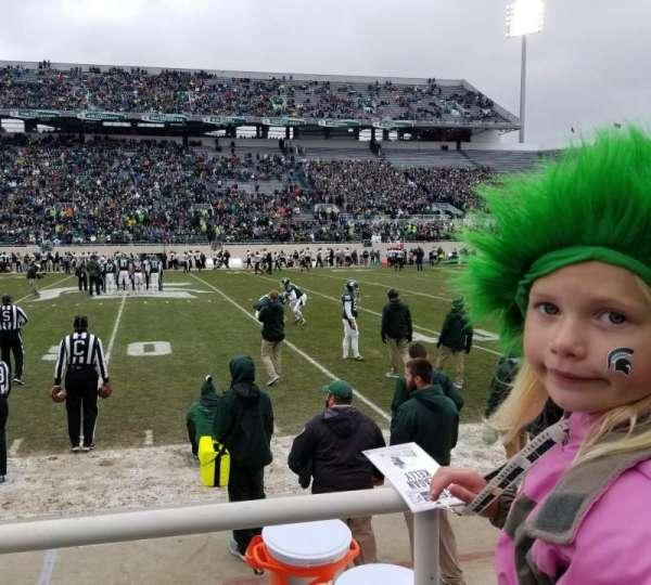 Spartan Stadium, secção: 23, fila: 1