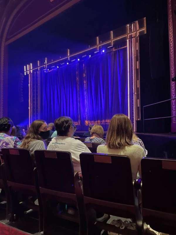 Mayflower Theatre, secção: Stalls, fila: E, lugar: 3