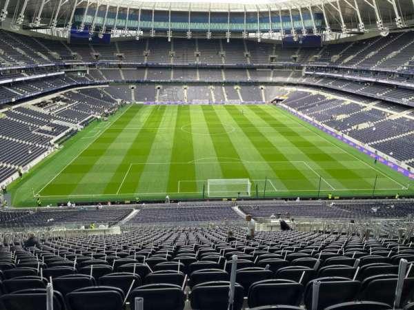 Tottenham Hotspur Stadium, secção: 453, fila: 60, lugar: 234