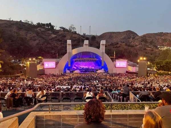 Hollywood Bowl, secção: N1, fila: 4, lugar: 2