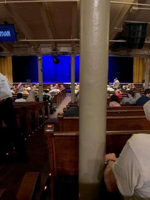 Ryman Auditorium, secção: MF-4, fila: U, lugar: 12
