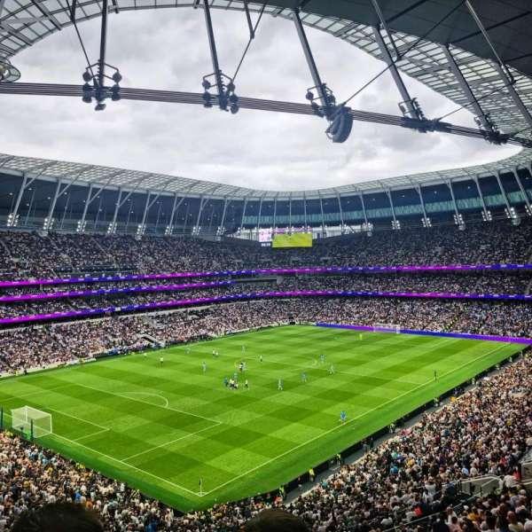 Tottenham Hotspur Stadium, secção: 530, fila: 15, lugar: 963